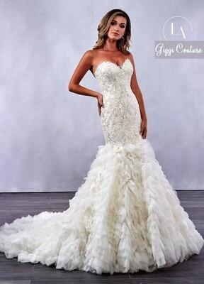 LO 'Adoro  mermaid wedding dress M712 size 14