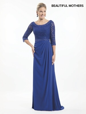 Beautiful Mother of the bride dress MB8016 SIZE 14