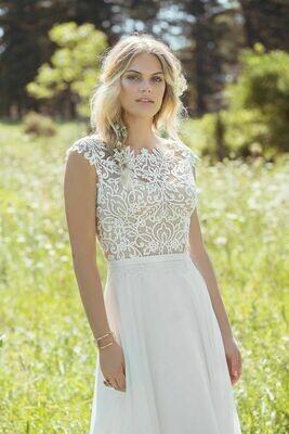 Lillian West wedding dress 6493 size 16