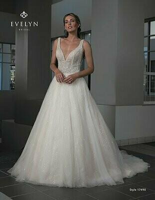 Evelyn Bridal 17490 size 14