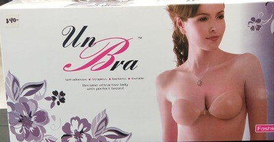 UnBra silicone bras size B cup