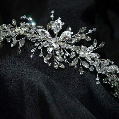 Bridal Headpiece silver