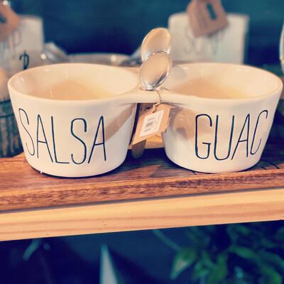 Salsa & Guac Dip set