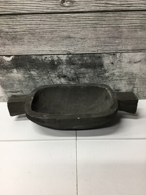 Handle Dough Bowl Dk. Brwn - 13