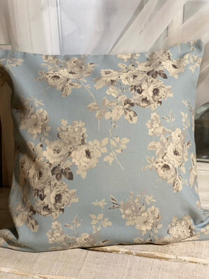 Romantic Floral Print Cushion Cover 20 X 20