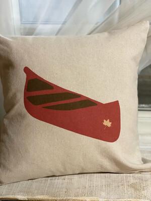 Canoe Pillow Cover 18*18