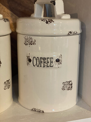 Coffee Canister Ceramic
