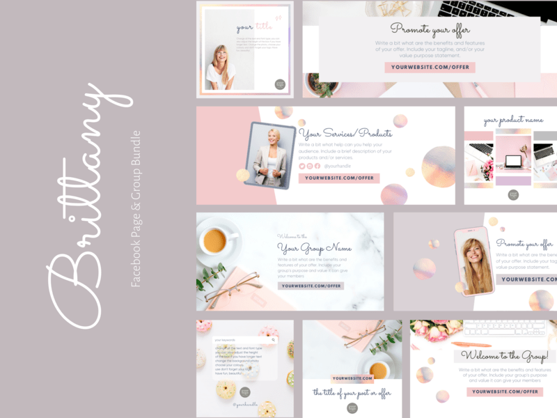 Brittany Facebook Page & Group Bundle