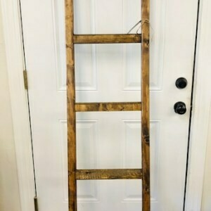 6ft Blanket Ladder (Stained)