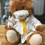 Grad Bear (White)