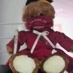 Grad Bear (Maroon)