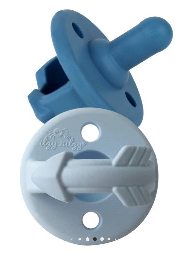 (331) 	Blue Pacifier Set