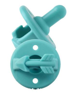 (319) Teal Pacifier Set