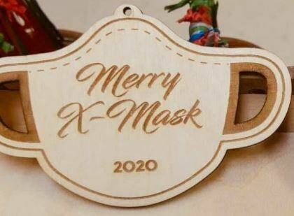 Mask Ornament Preorder