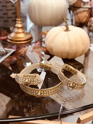 700 Glam Collar- Gold 12
