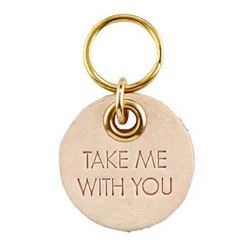 402 Take Me With You Dog Tag