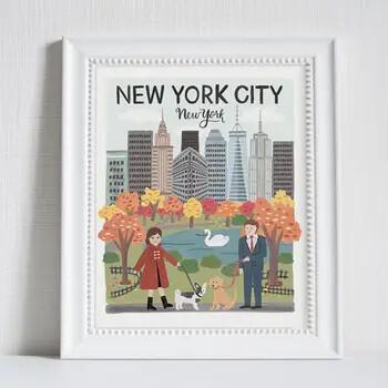 76 NY Print 8x10