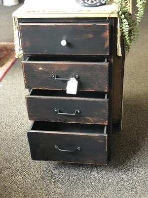 92 black dresser