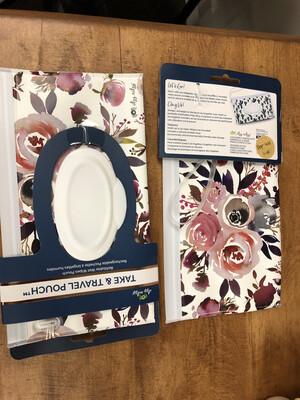 449Baby Floral Wipe Bag