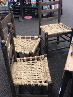 474Hand Made Rope chair set
