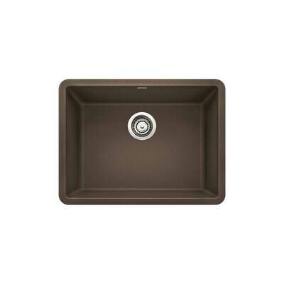 Blanco Precis 24″ Single Bowl Under-mount Silgranit Kitchen Sink  Cafe Brown