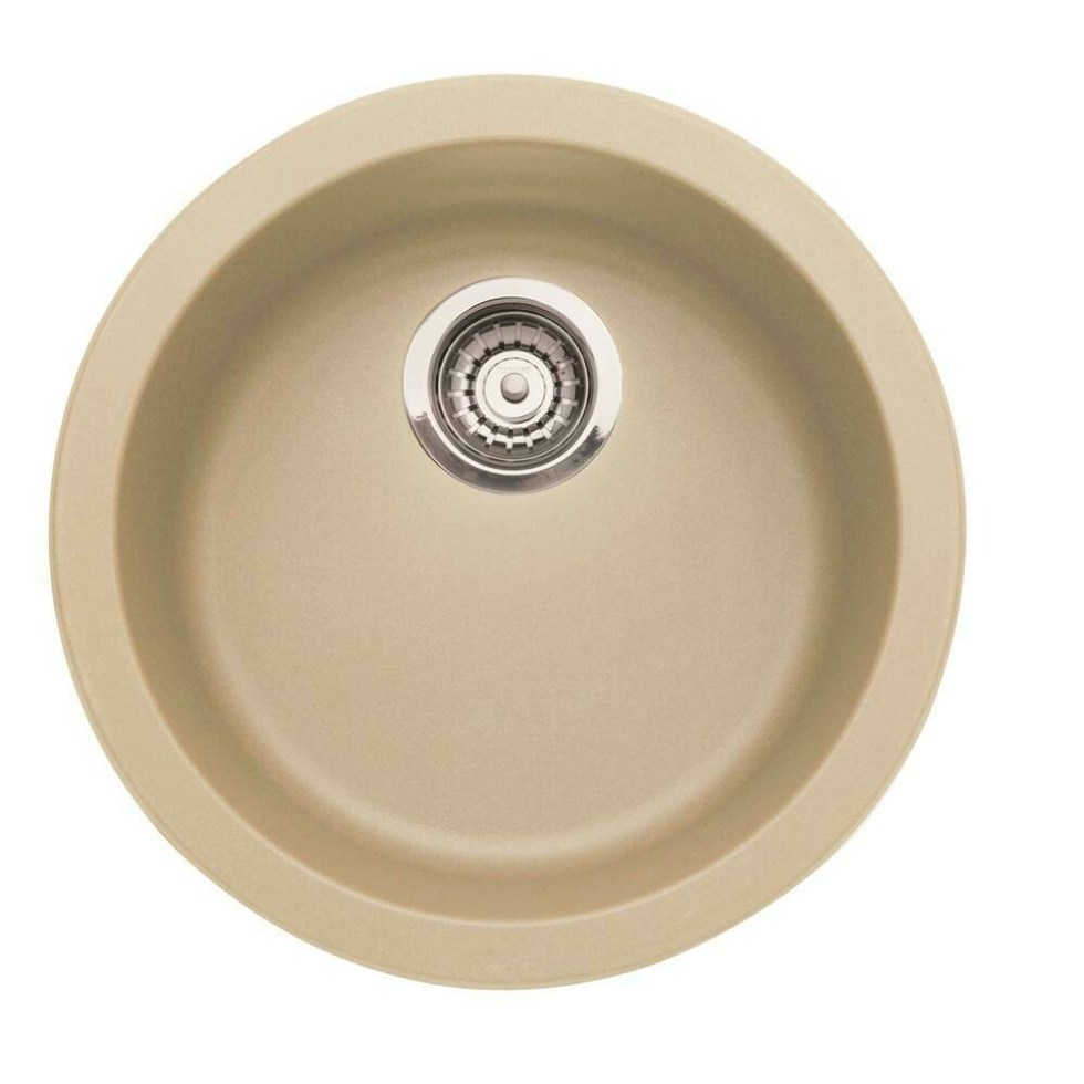 Blanco Rondo Bar Sink - Biscotti