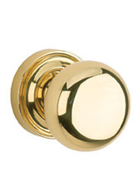Von Morris Door Hardware Traditional Small Mushroom Knob/Rose PAIR DUMMY
