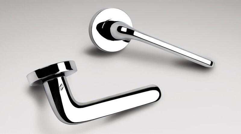 Colombo Design Door Lever ROBOQUATTRO -ID41NA- PASSAGE