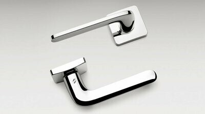 Colombo Design Door Lever ROBOQUATTRO/S -ID51NA- PRIVACY