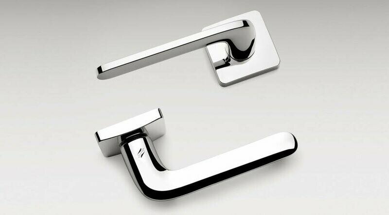 Colombo Design Door Lever ROBOQUATTRO/S -ID51NA- KEYLOCK/DEADBOLT