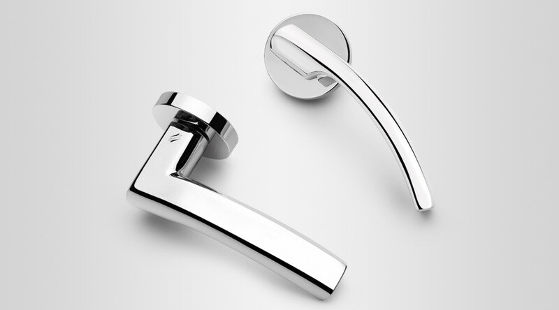 Colombo Design Door Lever OLLY Handle LC61NA-Double Dummy