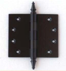 Deco & Deco Decorative Steeple Tip Door Hinges 3-1/2