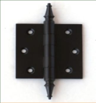 Deco & Deco Decorative Steeple Tip Door Hinges 2-1/2