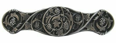 Notting Hill Cabinet  Pull Grapevines Antique Pewter 4