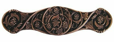 Notting Hill Cabinet Pull Grapevines Antique Copper 4