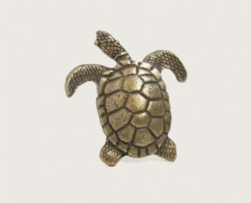 Emenee Decorative Cabinet Hardware Turtle 1-7/8