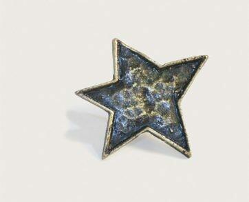 Emenee Decorative Cabinet Hardware Star 1-3/4