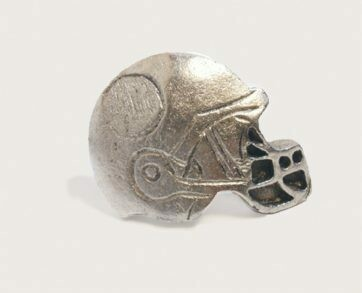 Emenee Decorative Cabinet Hardware Football Helmet 1-7/8
