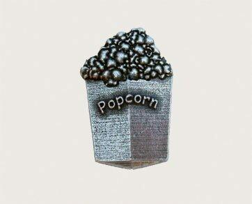 Emenee Decorative Cabinet Hardware Popcorn Knob 1-7/8