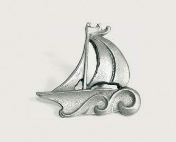 Emenee Decorative Cabinet Hardware Sailboat 2-1/4