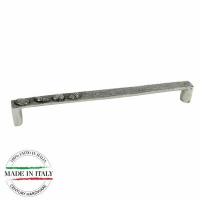 Century Cabinet Hardware Ocean - 224mm Pull in Natural Brittannium metal with 2 M4 screws