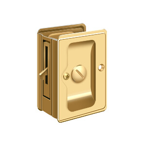 Deltana Architectural Hardware Door Accessories HD Pocket Locks, Adjustable, 3 1/4
