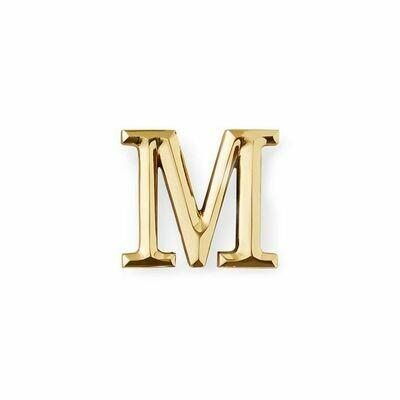 Michael Healy Designs Letter M Door Knocker - Brass