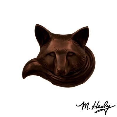 Michael Healy Designs Fox Doorbell Ringer Oil Rubbed Bronze