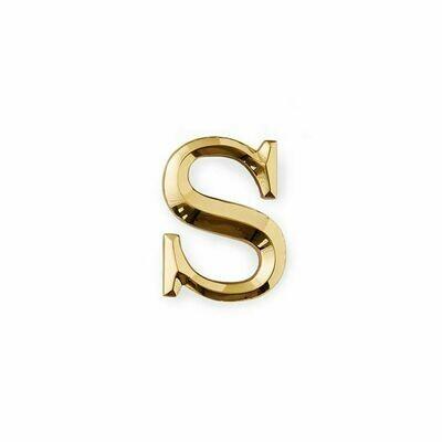Michael Healy Designs Letter S Door Knocker - Brass