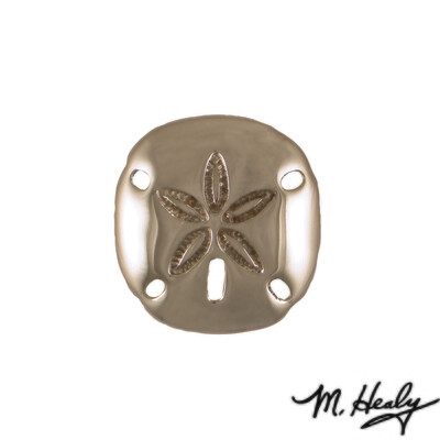 Michael Healy Designs Sand Dollar Doorbell Ringer Nickel Silver