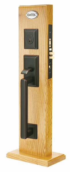 Emtek Door Hardware Mills Mortise Brass Entryset