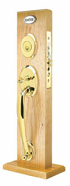 Emtek Door Hardware Salem Mortise Brass Entryset