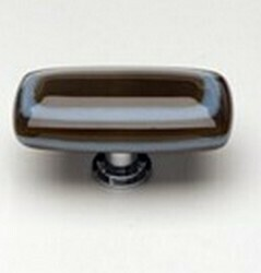 Sietto Glass Cabinet Knob Stratum Woodland Powder