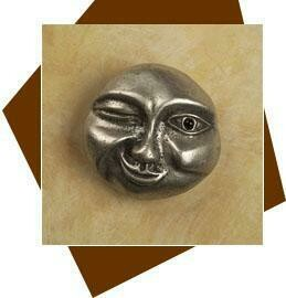 Anne At Home Winking Moon Cabinet Knob